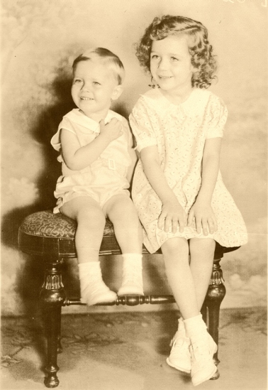 Doris Mae Ensminger and Arthur Merriman Ensminger, Jr., circa 1937