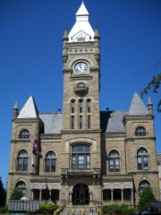 Butler County Courthouse in Butler, Pa